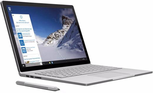 Microsoft Surface Book Windows®-Tablet / 2-in-1 34.3 cm (13.5 Zoll) Intel Core i5 2.4 GHz 128 GB SSD 8 GB DDR3-RAM Windo