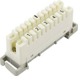 Connecteur LSA PLUS 2 Tru Components 1425905 10 pôles blanc 1 pièce