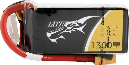 Tattu Modellbau-Akkupack (LiPo) 11.1 V 1300 mAh Zellen-Zahl: 3 75 C Stick XT60