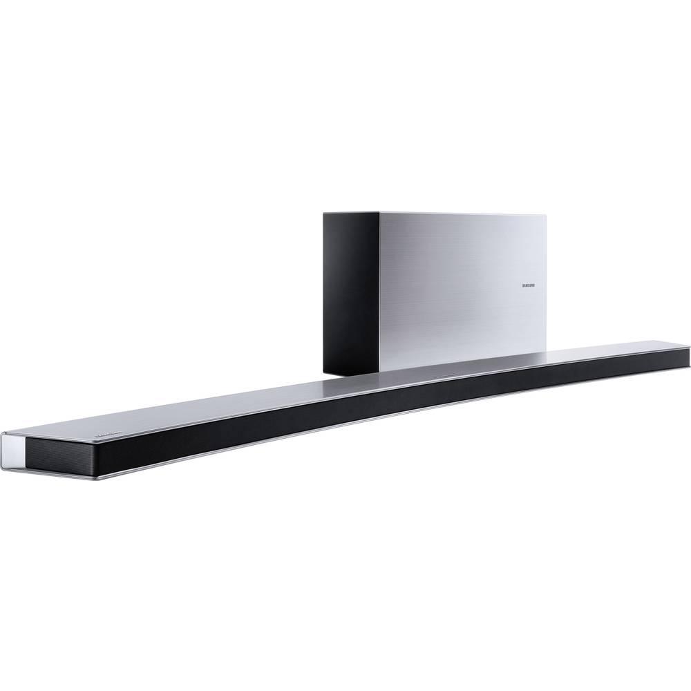 barre de son bluetooth wifi incurv e avec subwoofer sans fil samsung hw j8500r sur le site. Black Bedroom Furniture Sets. Home Design Ideas