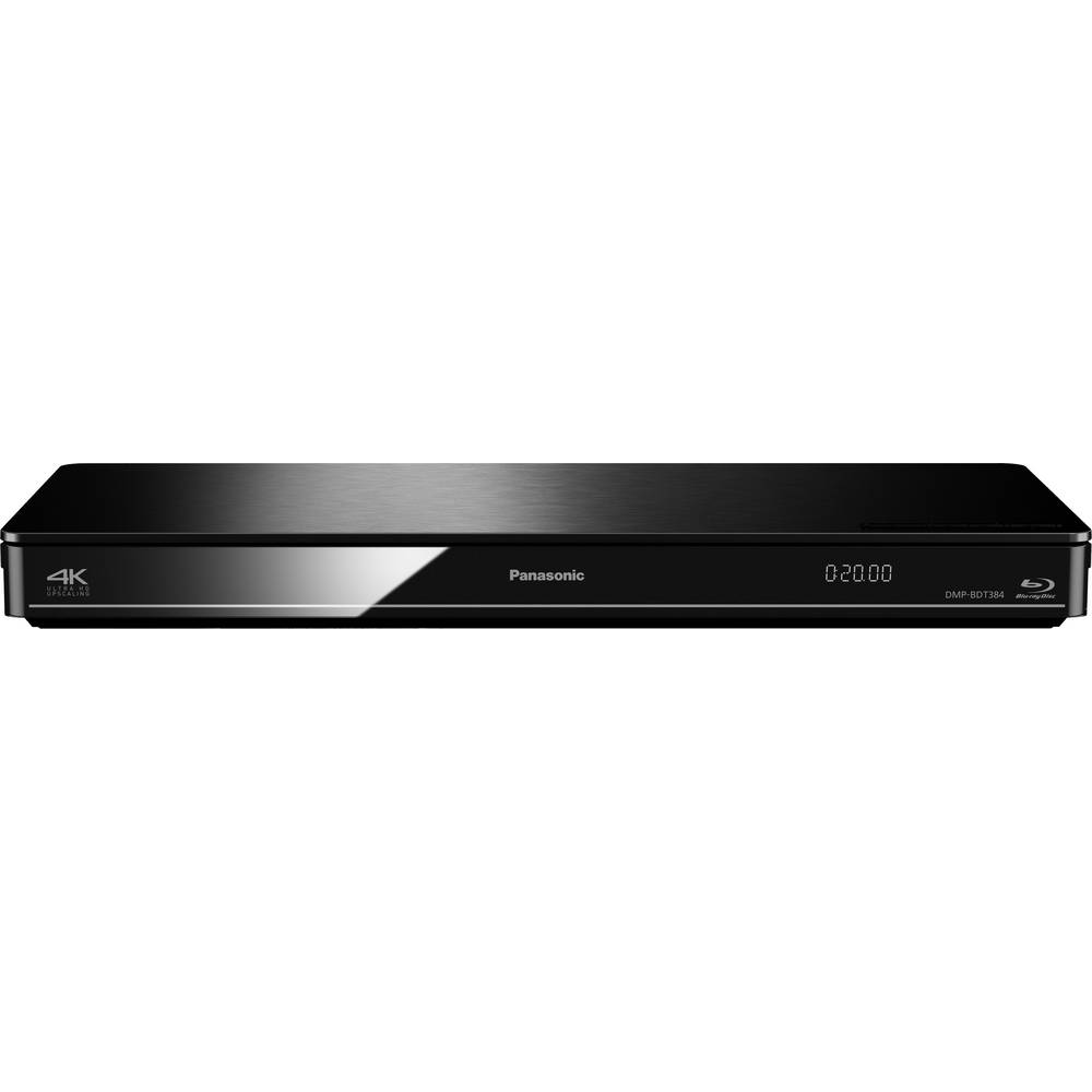 3d blu ray player panasonic dmp bdt384 wi fi black from. Black Bedroom Furniture Sets. Home Design Ideas