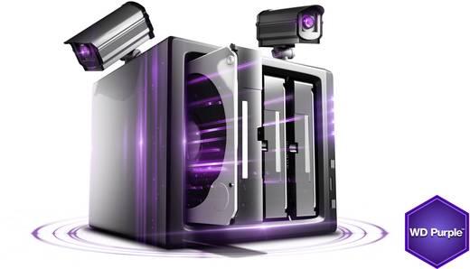 Interne Festplatte 8.9 cm (3.5 Zoll) 4 TB Western Digital Purple™ Bulk WD40PURX SATA III