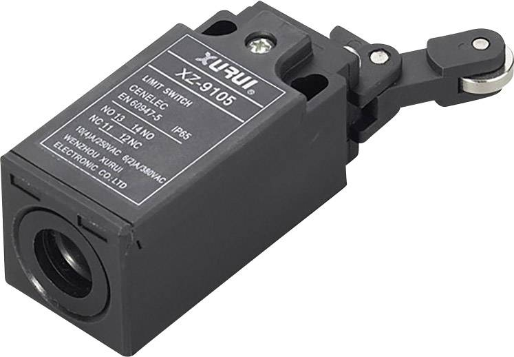 TRU Components XZ-9//103 Endschalter 250 V//AC 10A Rollenhebel tastend IP65 1St.