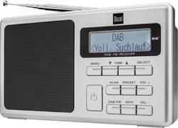 Prenosné DAB+ prenosné rádio Dual DAB 70, DAB+, UKW, strieborná