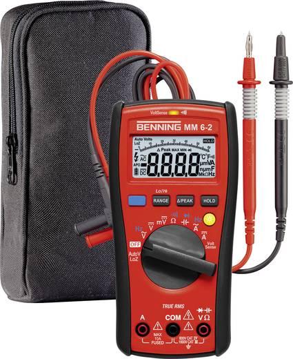 Benning MM 6-2 Hand-Multimeter digital Kalibriert nach: Werksstandard (ohne Zertifikat) CAT III 1000 V, CAT IV 600 V An
