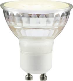 Ampoule LED GU10 Sygonix 1102020858 réflecteur 3.7 W=35 W blanc chaud (Ø x L) 53 mm x 50 mm EEC: classe A+ à intensité