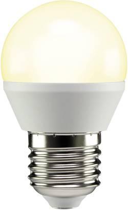 Ampoule LED E27 Sygonix TG45-3,5W-15 en forme de goutte 3.5 W=25 W blanc chaud (Ø x L) 45 mm x 74.5 mm EEC: classe A+