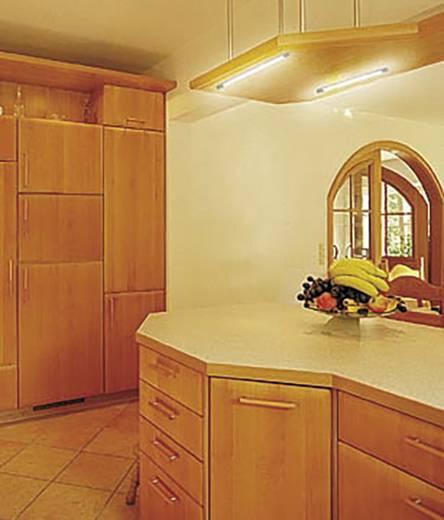 unterbauleuchte leuchtstofflampe g13 18 w neutral wei paulmann slimline silber. Black Bedroom Furniture Sets. Home Design Ideas