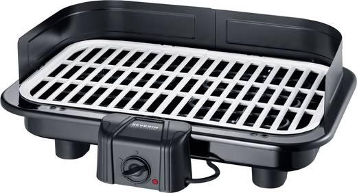 Severin Elektrogrill 2500 Watt : Severin pg 2794 tisch elektro grill mit windschutz schwarz kaufen