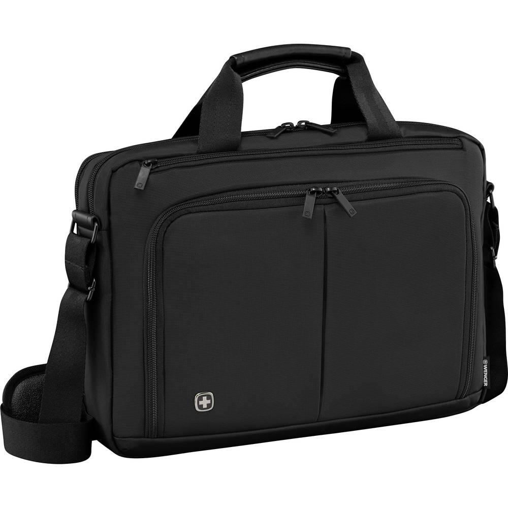 sacoche pour ordinateur portable wenger source au maximum 40 6 cm 16 noir sur le site. Black Bedroom Furniture Sets. Home Design Ideas