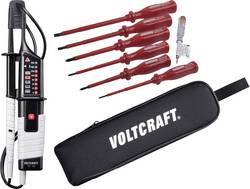 Digitální zkoušečka napětí VOLTCRAFT, VC 63, 12 až 690 V AC / DC, LED / LCD / Bzučák