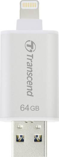 USB-Zusatzspeicher Smartphone/Tablet Transcend JetDrive™ Go 300 Silber 64 GB USB 3.1, Apple Lightning