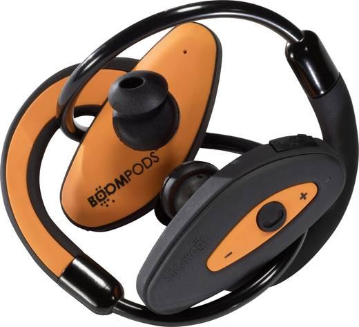 Boompods Sportpods Bluetooth® Sport Kopfhörer In Ear Headset, Schweißresistent, Wasserabweisend Orange