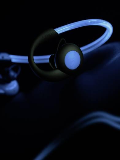 Boompods Sportpods Vision Bluetooth® Sport Kopfhörer In Ear Headset, Ohrbügel, Schweißresistent, Wasserabweisend Blau