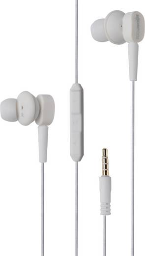 Kopfhörer Boompods Earbuds MFI In Ear Weiß