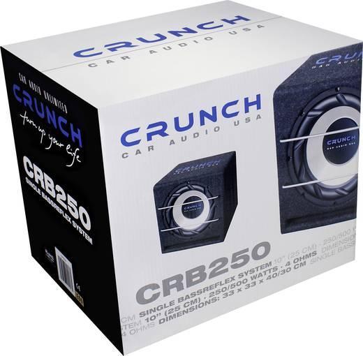 Crunch CRB250 Auto-Subwoofer passiv 500 W