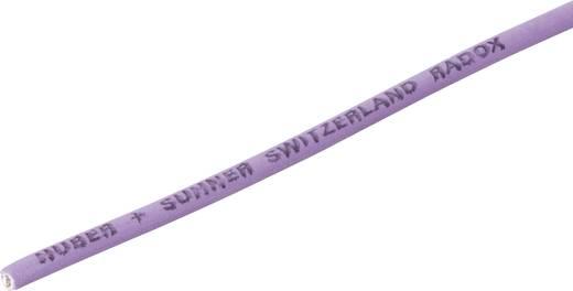 Litze Radox® 155 1 x 0.50 mm² Violett Huber & Suhner 12420677 Meterware