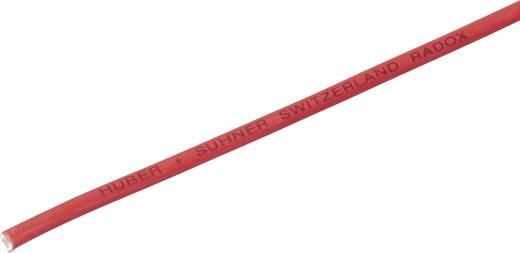 Huber & Suhner 12420026 Litze Radox® 155 1 x 0.75 mm² Rot Meterware