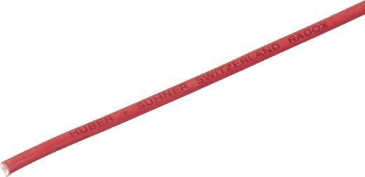 Litze Radox® 155 1 x 1 mm² Rot Huber & Suhner 12420036 Meterware