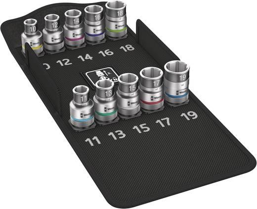 """Wera 8790 HMC HF 05004203001 Innen-Sechskant Steckschlüsseleinsatz-Set 10teilig 1/2"""" (12.5 mm)"""