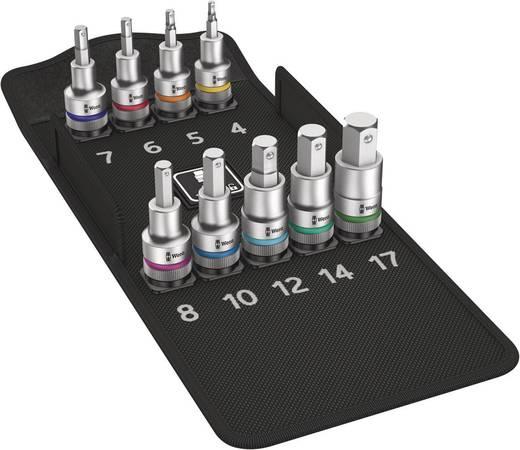 """Innen-Sechskant Steckschlüssel-Bit-Einsatz-Set 9teilig 1/2"""" (12.5 mm) Wera 8740 C HF 05004201001"""
