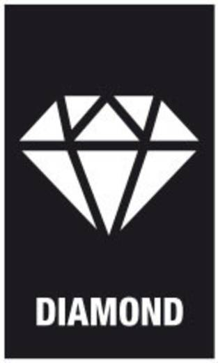 Bit-Set 7teilig Wera Bit-Check 7 Diamond 1 05057416001 Kreuzschlitz Pozidriv, Kreuzschlitz Phillips, Schlitz BiTorsion