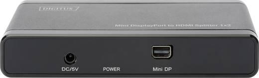 Digitus DS-45402 2 Port Mini DisplayPort-Splitter 4096 x 2160 Pixel Schwarz