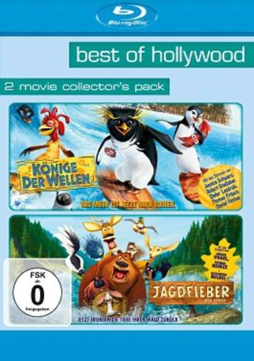 blu-ray Jagdfieber / Könige der Wellen Best of Hollywood 2 Movie Collectors Pack FSK: 0