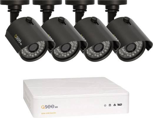 AHD Überwachungskamera-Set 4-Kanal mit 4 Kameras 1280 x 720 Pixel 1 TB Q-See QTH4-4Z3-1