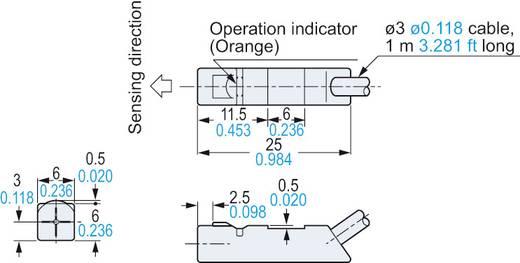 Induktiver Näherungsschalter NPN Panasonic GX-H6B