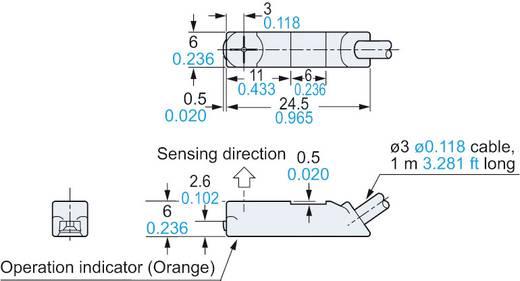 Panasonic Induktiver Näherungsschalter PNP GX-F6B-P