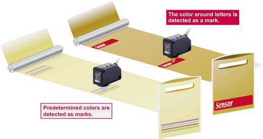 Farbsensor Panasonic LX101P 1 St. 12 - 24 V/DC (L x B x H) 35 x 24 x 57 mm