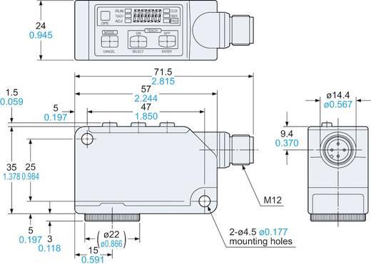 Farbsensor Panasonic LX101Z 1 St. 12 - 24 V/DC (L x B x H) 35 x 24 x 57 mm