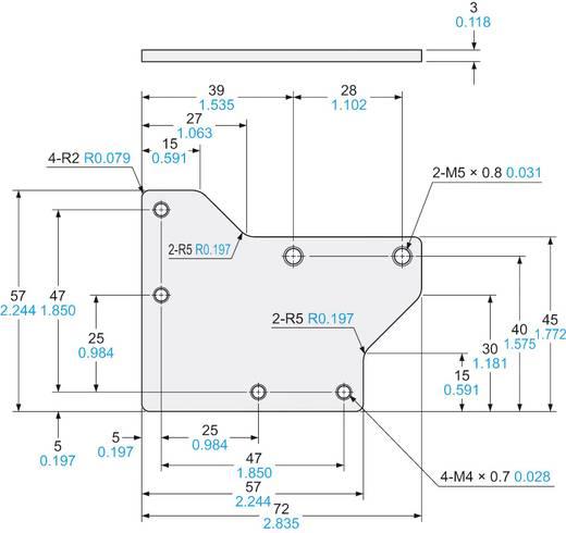 Montagewinkel Panasonic MSLX1 Ausführung (allgemein) Montagewinkel