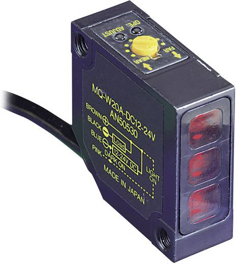 Panasonic MQW3A1224EMJ Triangulations-Lichttaster hellschaltend, dunkelschaltend, Umschalter (Hell-EIN/Dunkel-EIN) 12 -