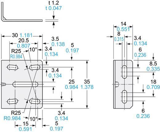 Montagewinkel, Serie MSCX Panasonic MSCX3 Ausführung (allgemein) Montagewinkel