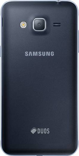 Samsung Galaxy J3 (2016) Duos Smartphone Dual-SIM 8 GB 12.7 cm (5 Zoll) 8 Mio. Pixel Android™ 5.1 Lollipop Schwarz