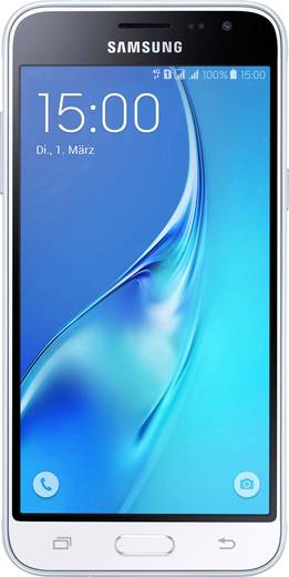 Samsung Galaxy J3 (2016) Duos Dual-SIM LTE-Smartphone 12.7 cm (5 Zoll) 1.5 GHz Quad Core 8 GB 8 Mio. Pixel Android™ 5.1