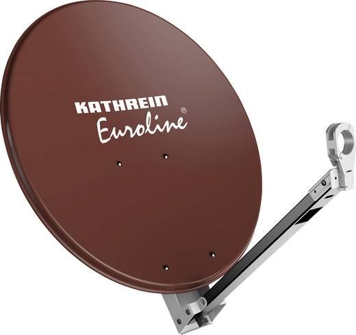Kathrein KEA 650 SAT Antenne 65 cm Reflektormaterial: Aluminium Rot-Braun