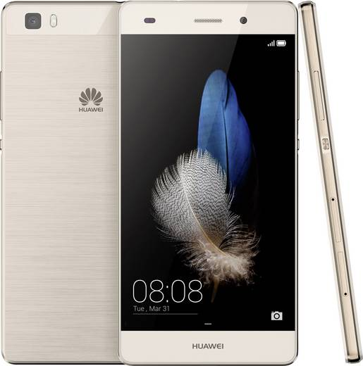 Huawei P8 Lite Hybrid-Slot LTE-Smartphone 12.7 cm (5 Zoll) 1.2 GHz Octa Core 16 GB 13 Mio. Pixel Android™ 5.0 Lollipop G