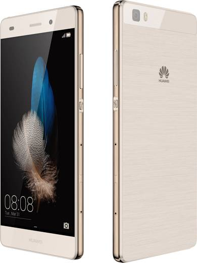Huawei P8 Lite LTE-Dual-SIM Smartphone 12.7 cm (5 Zoll) 1.2 GHz Octa Core 16 GB 13 Mio. Pixel Android™ 5.0 Lollipop Gold