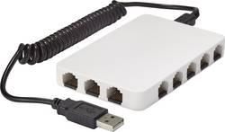 Síťový switch RJ45 Renkforce s napájením přes USB, 8 portů, 100 Mbit/s