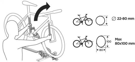 Fahrradträger-Fatbike Adapter Thule ProRide 598 Anzahl Fahrräder=1
