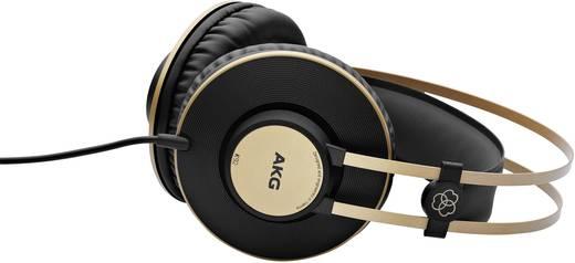 AKG Harman K92 Studio Kopfhörer Over Ear Schwarz, Gold
