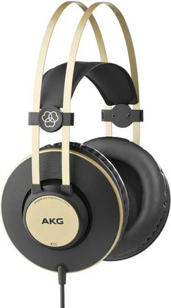 Image of AKG Harman K92 Studio Kopfhörer Over Ear Schwarz, Gold