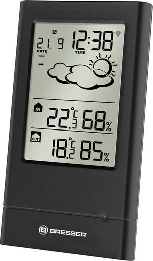 Bresser Optik TempTrend 7004001 Funk-Wetterstation Vorhersage für 12 bis 24 Stunden