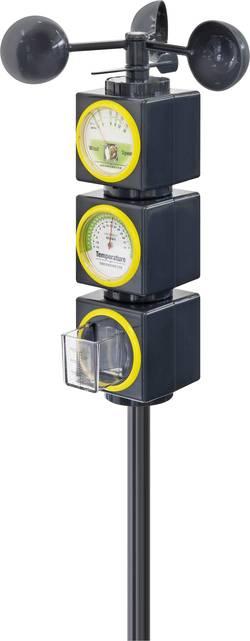 Venkovní analogová meteostanice pro děti Bresser Optik 8849701, černá