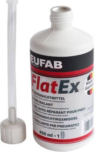 Reifen-Dichtmittel Eufab 21069 FLAT-EX (L x B x H) 7 x 7 x 25 cm