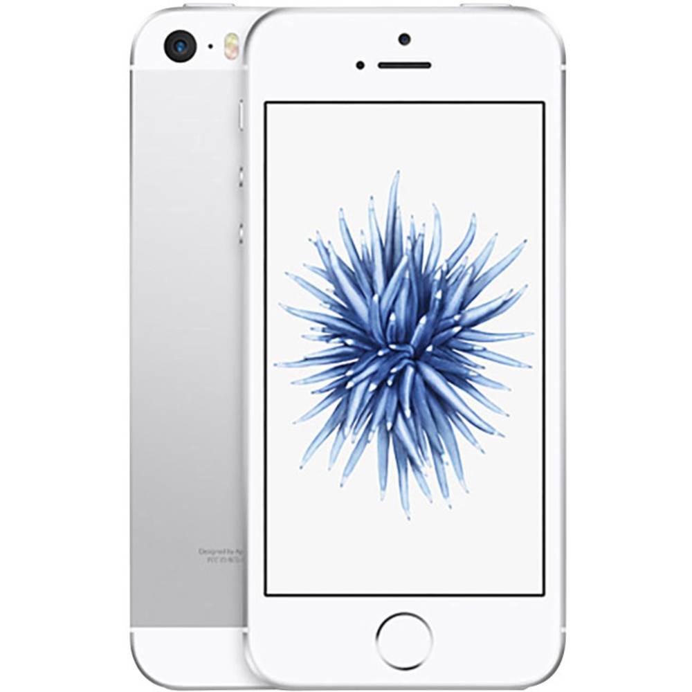 apple iphone se 128 gb argento in vendita online mp872dn. Black Bedroom Furniture Sets. Home Design Ideas