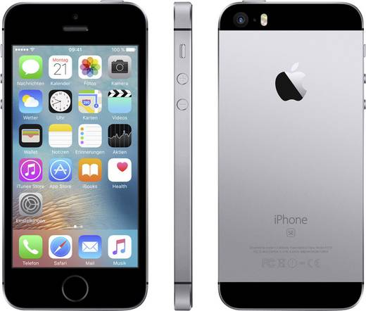 Apple iPhone SE 16 GB Spacegrau